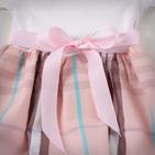Фото: Платье с юбкой в светло-розовую клетку (артикул B 50034-light pink) - изображение 6