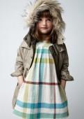 Фото: Детское платье с юбкой в клетку (артикул B 50034-light blue) - изображение 7