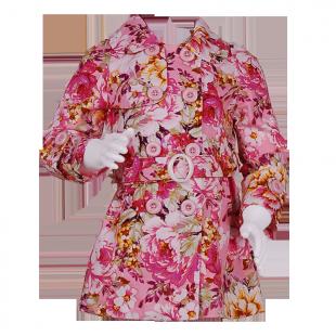 Фото: Плащ с цветочным рисунком (артикул Gp 10006-flowers) - изображение 2