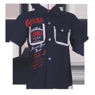 Рубашка с надписями.