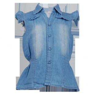 . Блуза джинсовая