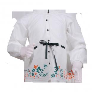 Фото: Туника с цветочным рисунком (артикул O 30130-white) - изображение 2