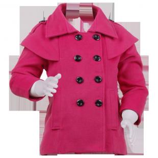 Детское пальто  оригинального кроя
