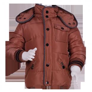 Куртка утепленная с капюшоном.