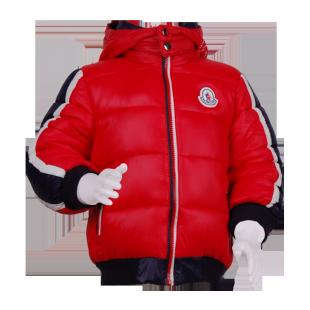 . Синтипоновая зимняя куртка с капюшоном