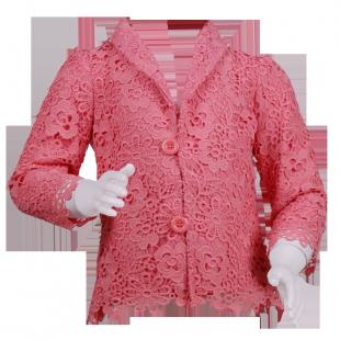 Нежный кружевной пиджак для девочки