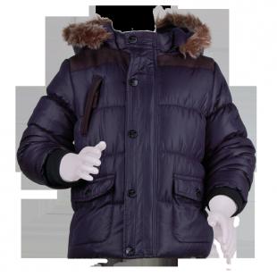 . Soul & Glory. Куртка зимняя  с заплатками