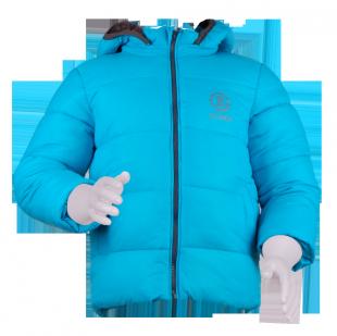 . Стеганая куртка с капюшоном