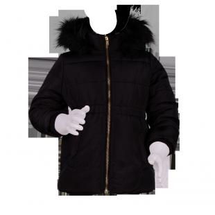 Черная курточка для девочки