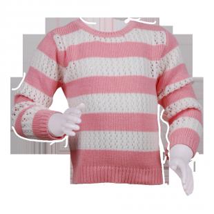 Minoti. Детский свитер в полоску для девочки