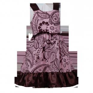 . Платье с бантом на спине.