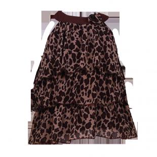 Туника летняя  с леопардовым принтом
