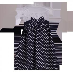 OshKosh. Платье с юбкой в горошек.