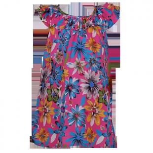 Сарафан с цветочным принтом