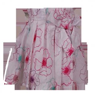 Vertbaudet. Юбка с рисунками цветов
