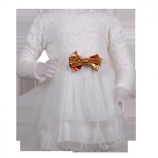 Catimini. Платье кружевное
