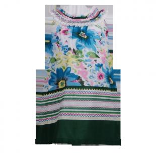 Платье с оригинальным воротником
