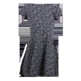 Платье с орнаментом