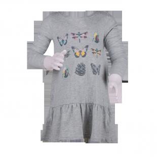 Платье-туника с рюшами