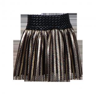 Золотистая юбка для девочки