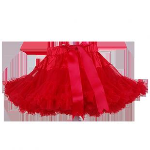 Яркая детская юбка-облако