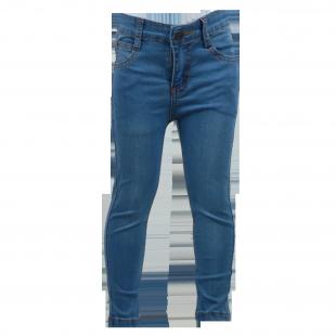 Фото: Лёгкие джинсы с потёртостями  (артикул O 60050-jeans) - изображение 2