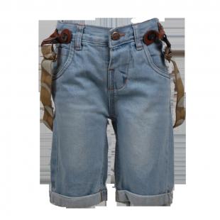 Фото: Soul & Glory. Джинсовые шорты для маленьких мальчиков (артикул O 60082-jeans) - изображение 2