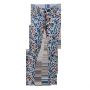 Okaidi. Зауженные  джинсы с карманами