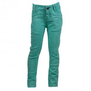 Okaidi. Зауженные джинсы  мятного цвета