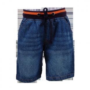 Стильные детские джинсовые шорты с резинкой