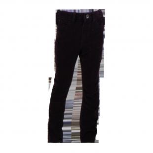 Чёрные вельветовые штаны