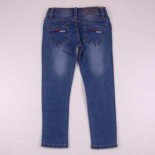 Фото: Синие детские джинсы Armani (артикул O 60130-jeans) - изображение 4