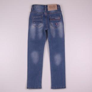 Фото: Детские джинсы D&G с потертостями (артикул O 60133-jeans) - изображение 4