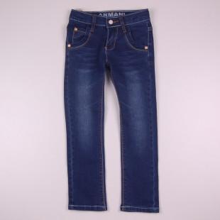Фото: Стильные детские джинсы Armani (артикул O 60134-dark jeans) - изображение 3