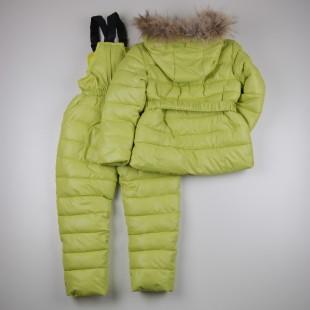 Фото: Зимний костюм Богнер для девочки (артикул O 70051-light green) - изображение 4