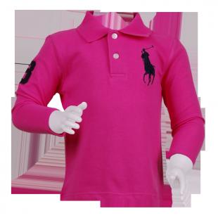 Фото: Малиновая кофта Поло для девочки (артикул RL 30001-pink) - изображение 2