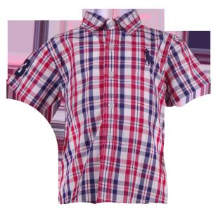 Яркая рубашка в клетку Ralph Lauren
