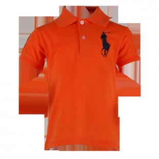 Фото: Футболка Big Polo оранжевая  (артикул RL 40001-orange) - изображение 2