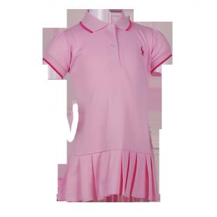 Платье Polo с плиссированной  юбкой