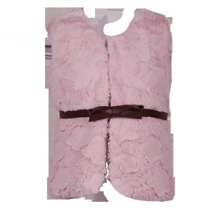 Теплый меховой жилет