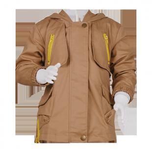 Куртка парка удлиненная на молнии