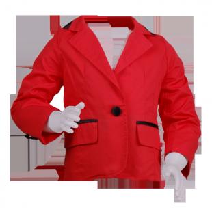 Яркий пиджак для девочки