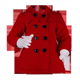 Яркое детское пальто Zara