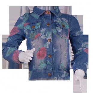 . Джинсовая курточка для девочки от Zara