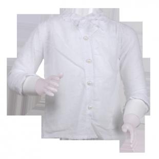 Блуза с кружевной отделкой