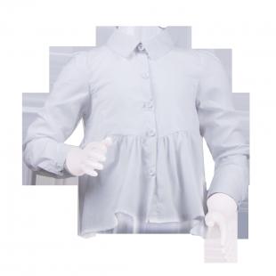 . Белая рубашка-туника