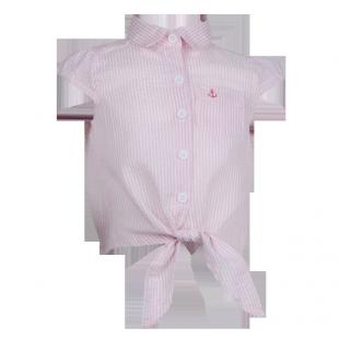 . Летняя рубашка для девочки