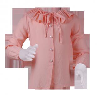 . Лёгкая блузочка персикового цвета
