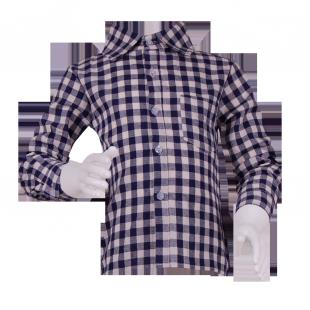 . Стильная рубашка в клетку