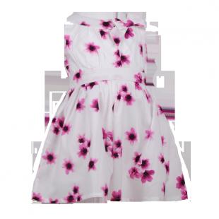 Детское платье с маленькими цветами